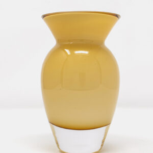 Kleine Glasvase Ocker_2