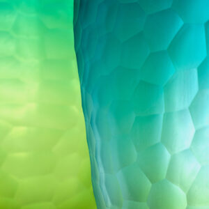Vase Blau Grün_Detail1