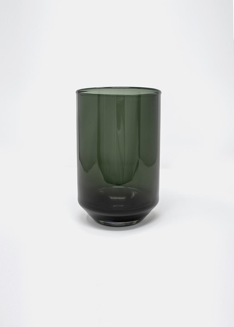 Weiß Grüne Elegance_Vase